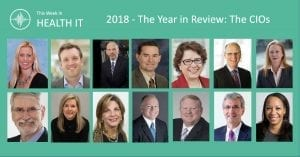 2018 Year in Review - This Week in Health IT - The CIOs