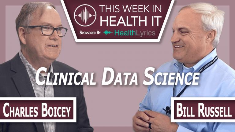 Charles Boicey This Week in Health IT