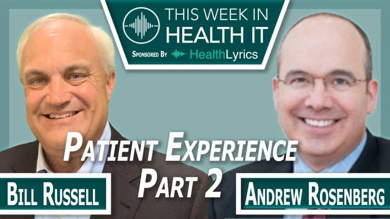 Andrew Rosenberg Michigan Medicine This Week in Health IT
