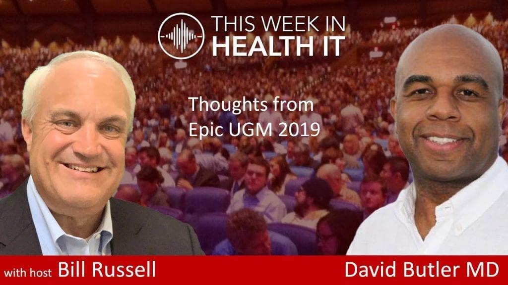 David Butler MD Epic UGM 2019