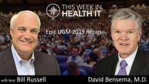 Epic UGM 2019 with David Bensema MD