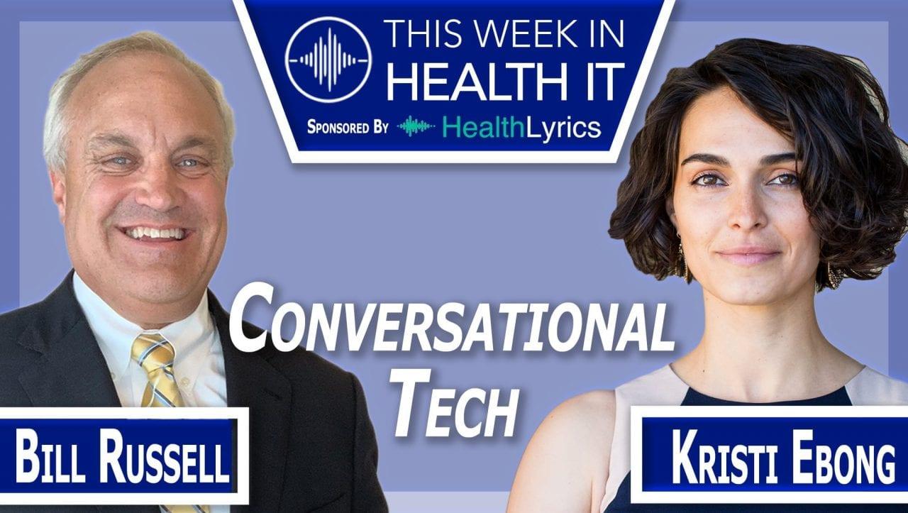 Kristi Ebong This Week in Health IT