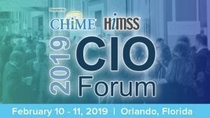 CHIM19 Spring Forum This Week in Health IT