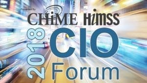 CHIME18 Fall Forum This Week in Health IT
