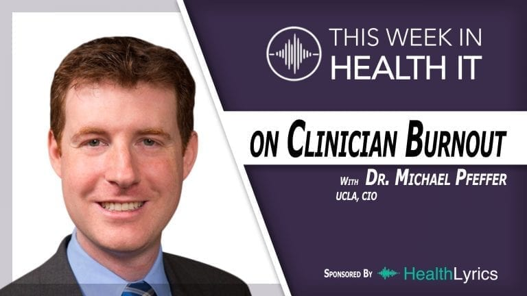 Mike Pfeffer, M.D. CIO UCLA