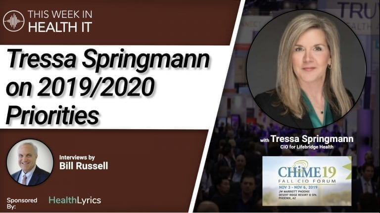 Tressa Springmann This Week in Health IT