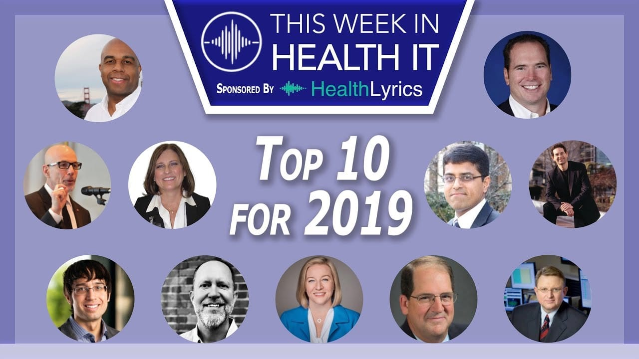 Top 10 Most Listened to Podcasts on This Week in Health IT for 2019