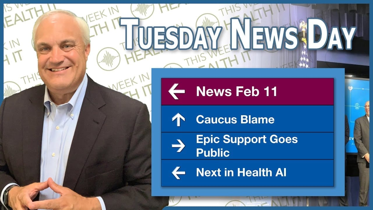 Iowa Caucus, Epic Scrutiny, Next in AI and More on This Week in Health IT