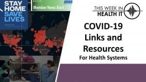 COVID-19 This Week in Health IT Resources
