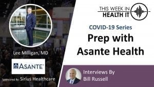 Asante Health This Week in Health IT