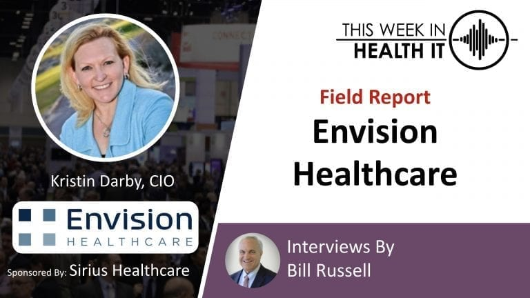 Envision Healthcare This Week in Health IT