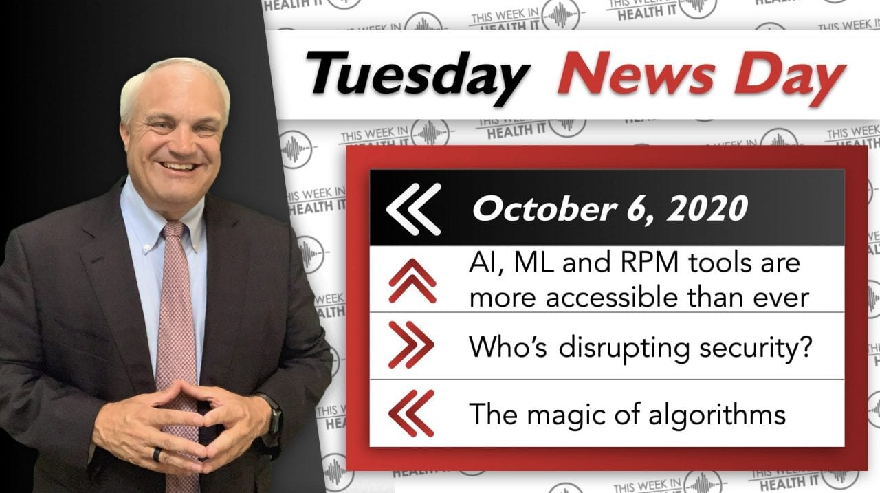 News Day - Will Security Scale? RPM, ML, AI and other fun