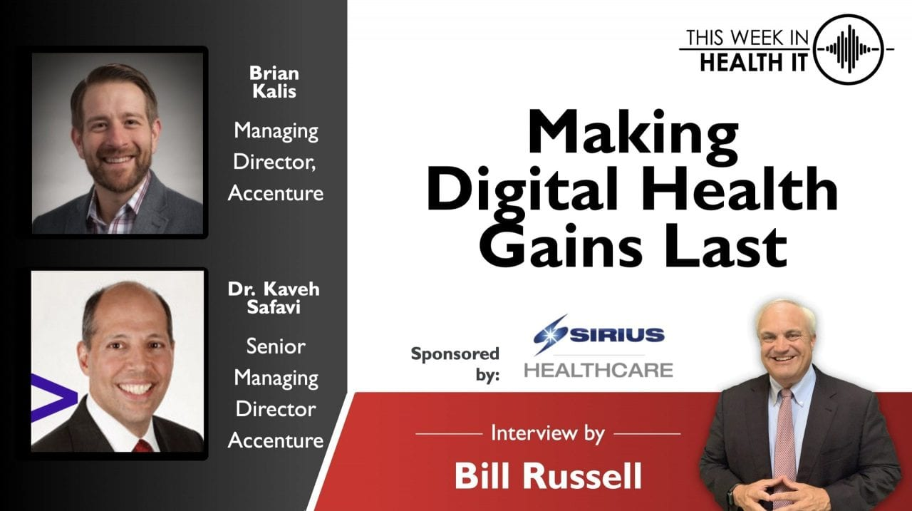 Making Digital Health Gains Last with Accenture Health